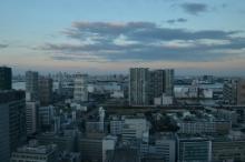 品川インターシティ A棟 受付エリアからの眺望